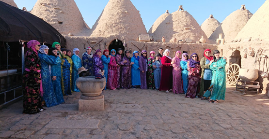 Fransa'da Yaşayan Tük Kadınları Harran'ı Gezdi