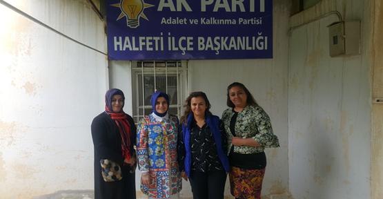 Güven Halfeti ilçe kadın kolları yönetim kurulu üyelik mülakatlarına katıldı