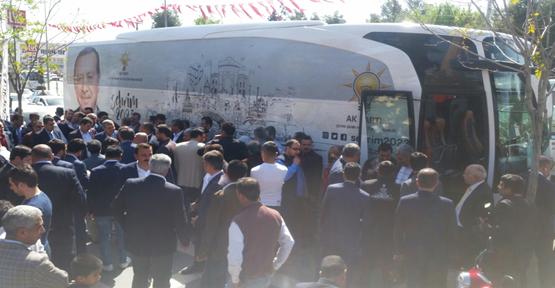 Şehrim 2023 Otobüsü Urfa'da