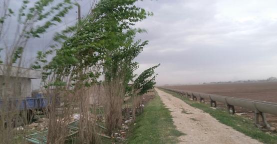 Urfa'da sağanak yağış etkili oldu