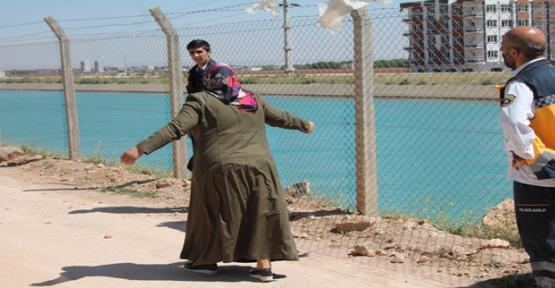 Urfa'da Sulama Kanalı Can Aldı