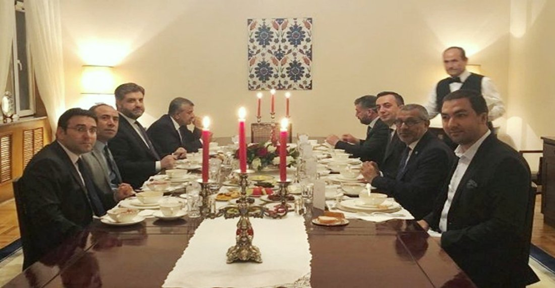 Büyükelçi Önen'den Urfa heyetine iftar yemeği