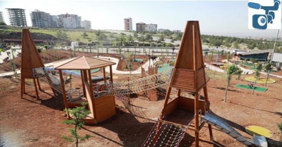 Çocuk Oyun Parkı 19 Mayıs'ta Açılıyor