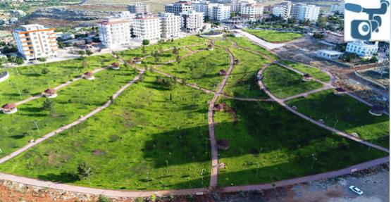 Halfeti Kent parkı açıldı