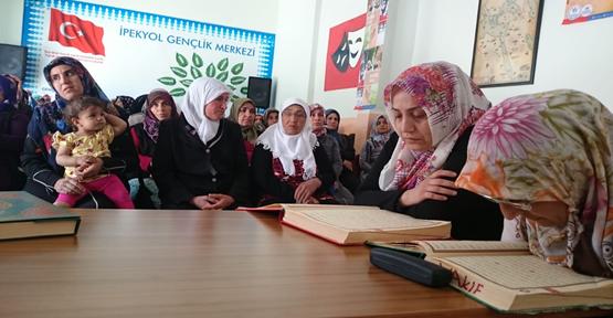 Ramazanda Her Gün Mukabele Dersleri Başladı