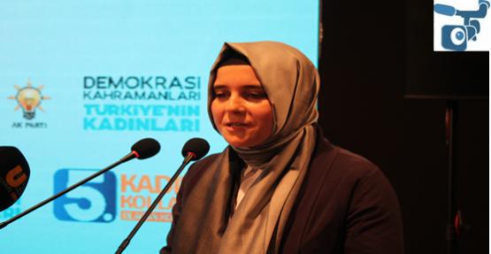Şanlıurfa Ak Parti Kadın Kolları 5.Olağan Kongresi Yapıldı