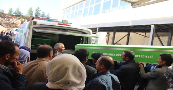 Urfa'da kazada hayatını kaybeden 4 kişi defin edildi