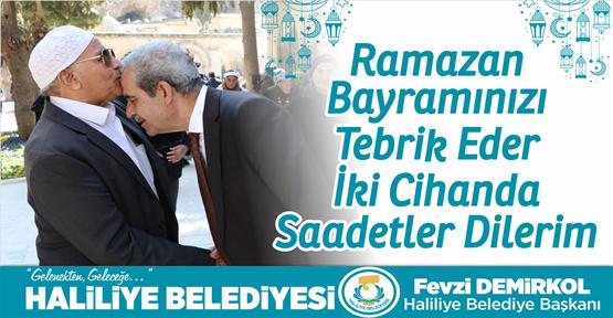Başkan Demirkol: Tüm İslam Âleminin Ramazan Bayramı Kutlu Olsun