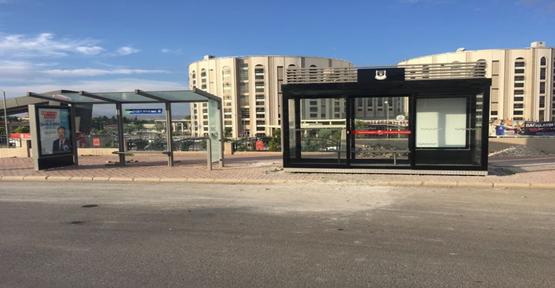 Urfa'da Klimalı Durak Kuruluyor