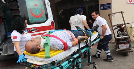 Urfa'da Minibüs Devrildi, 4 Yaralı
