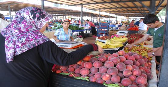 Urfa'da Sebze ve Meyvelerin Fiyatları Düştü
