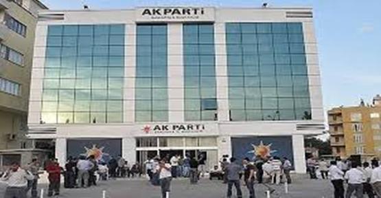 AK Parti Şanlıurfa İl Başkanlığı'ndan istifa açıklaması!