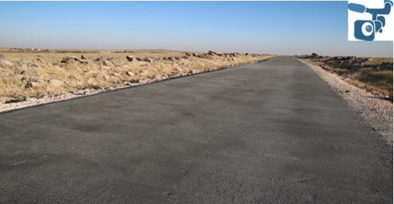 Beton Yol Çalışmaları Tam Hız İlerliyor