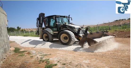 Haliliye Belediyesi Kırsalda Yol Çalışmasına Devam Ediyor