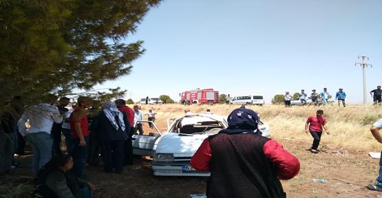 Viranşehir'de kaza, 4 yaralı