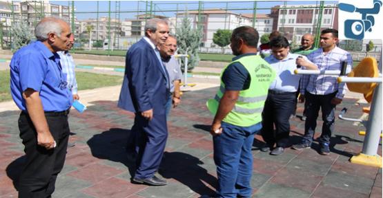 Başkan Demirkol, Yapılan  Çalışmaları Denetledi
