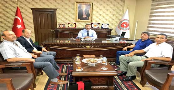 Başkan Yavuz'dan, Başsavcı Öztoprak'a Ziyaret