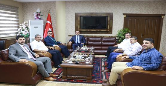 Başsavcı Öztoprak Ziyaretleri Kabul Etti