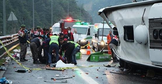 Bayram Tatilinin İlk 5 Gününde, Trafik Kazalarında 96 Kişi Öldü