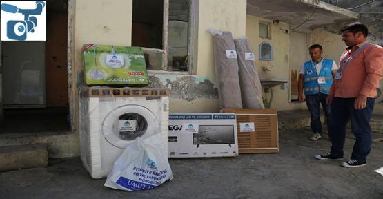Eyyübiye Belediyesi Yardıma Muhtaç İnsanların Yanında