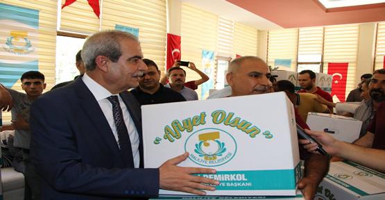 Haliliye Belediyesi Bayram Öncesi Çölyak Hastalarını Sevindirdi