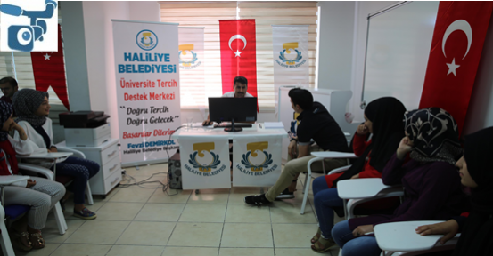 Haliliye'den YKS Öğrencilerine Tercih Desteği