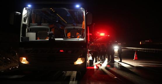 Şanlıurfa'da Yolcu Otobüsünde Yangın Paniği