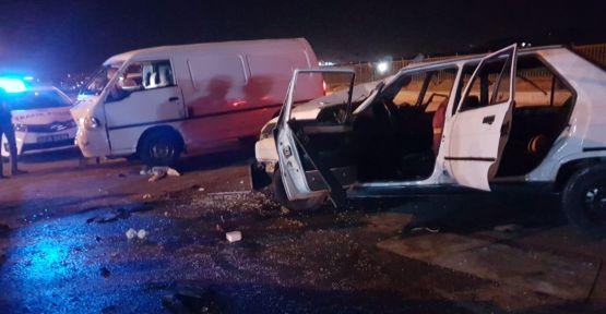 Urfa'da Trafik Kazası, 9 Yaralı
