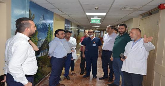 Urfa Hastanesinde Kütüphane Açıldı