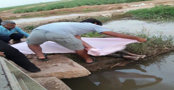 Urfa Sulama Kanalında Erkek Ceset Bulundu