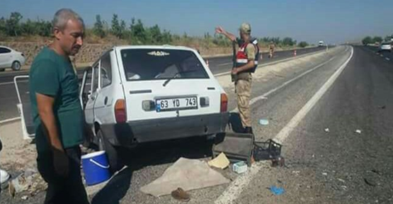 Urfa'dan Piknik'e Çıkan Aile Kaza Yaptı, 2 Ölü, 4 Yaralı