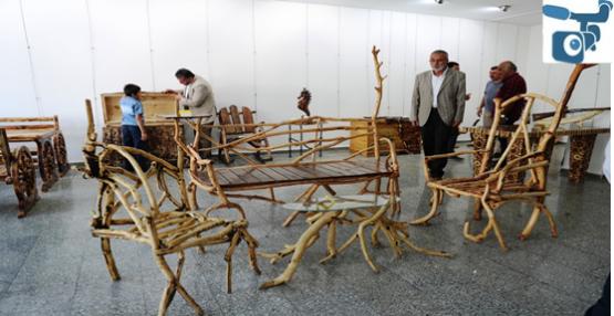 'Ağaç ve Ahşap Sanat Sergisi' Şanlıurfa'da Açıldı