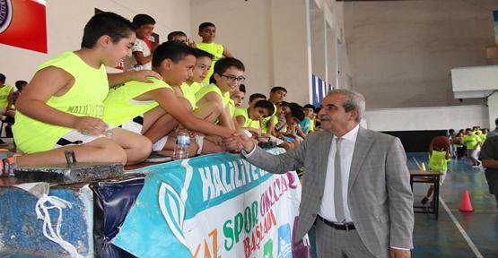 Başkan Demirkol, 'Haliliye Yaz Spor Okullarından Milli Sporcular Yetişecek'