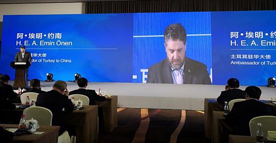 Büyükelçi Önen, Türkiye-Çin işbirliği için seferber