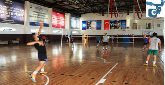 Büyükşehir Voleybol Takımı 2018-2019 Yeni Sezon Hazırlıklarına Başladı