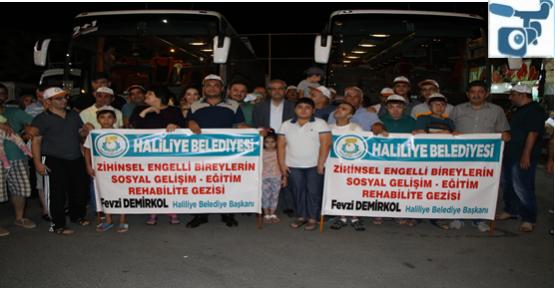 Haliliye Belediyesi Engellileri Tatile Gönderdi