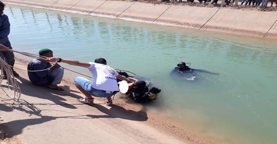 Harran'da Serinlemek İçin Kanala Giren Genç Boğuldu