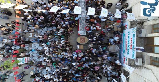 Urfa'da Binlerce Vatandaşa Aşure İkram Edildi