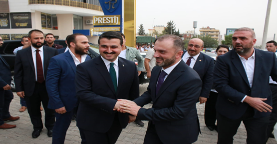AK Parti Genel Başkan Yardımcısı Kandemir Urfa'da