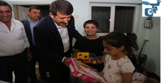 Başkan Ekinci, On İkiler Ve Eyüpkent Mahallesinde Yaşayan Vatandaşları Ziyaret Etti