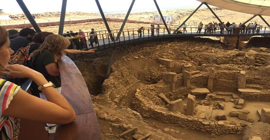 Büyükelçiler Urfa'nın Tarihi Yerlerini Gezdi