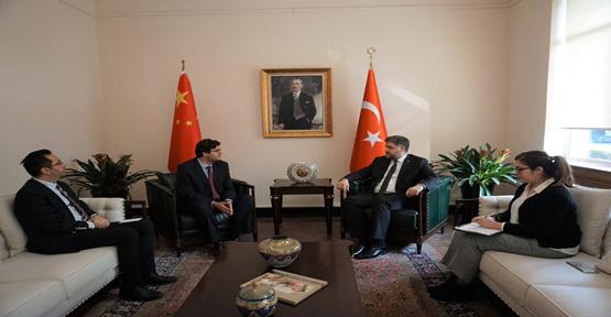 Huawei Pekin Bölge Direktöründen Büyükelçi Önen'e ziyaret