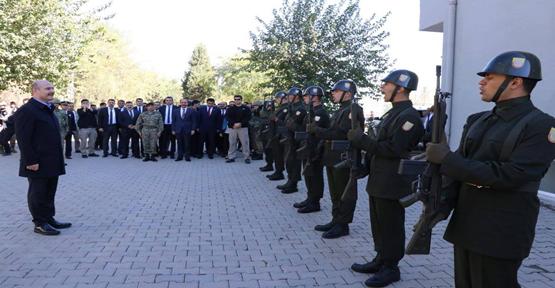 İçişleri Bakanı Süleyman Soylu Akçakale'de