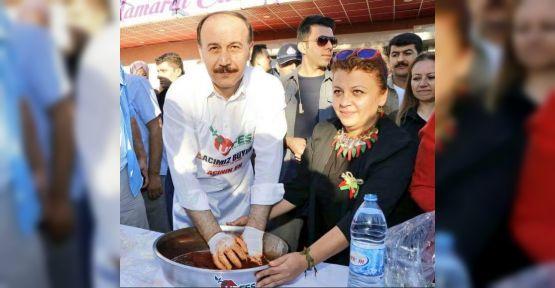 Urfa'da Çiğköfte Yarışması