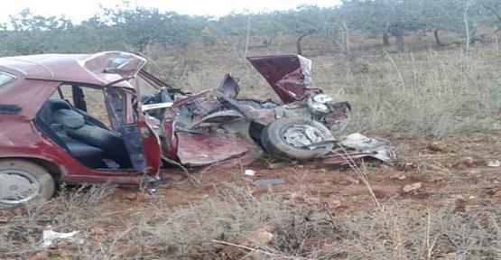 Urfa'da trafik kazası, 3 ölü, 2 yaralı
