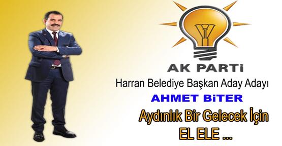 Ahmet Biter AK Parti'den Aday Adayı Oldu