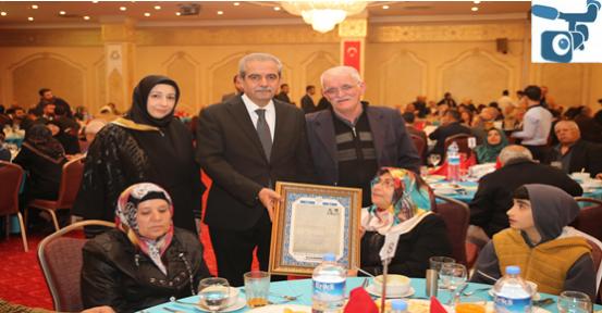 Haliliye Belediyesi 40 Yıllık Evli Çiftler, Bir Araya Getirildi