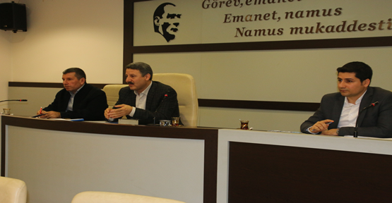 'Planlı Alanlarda İmar Yönetmeliği Hazırlama Süreci' Toplantısı Yapıldı