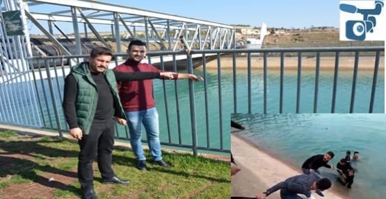 Şanlıurfa'da Kanala Düşen Çocukları O Kahramanlar Kurtardı