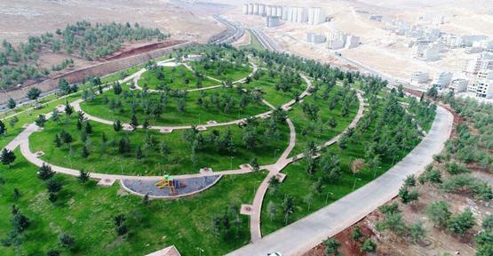 """Urfa'da """"Karabağ Kardeşlik Parkı"""" Açıldı"""